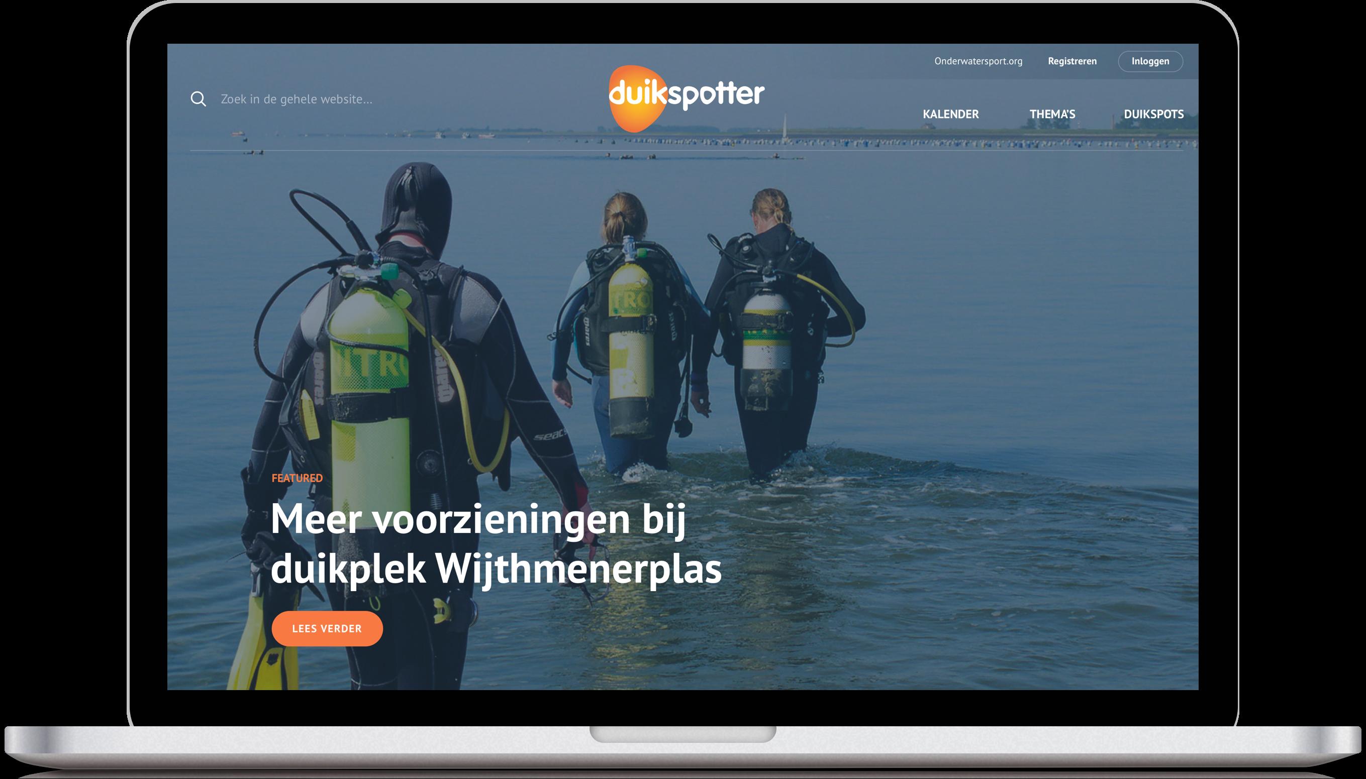 Homepage duikspotter